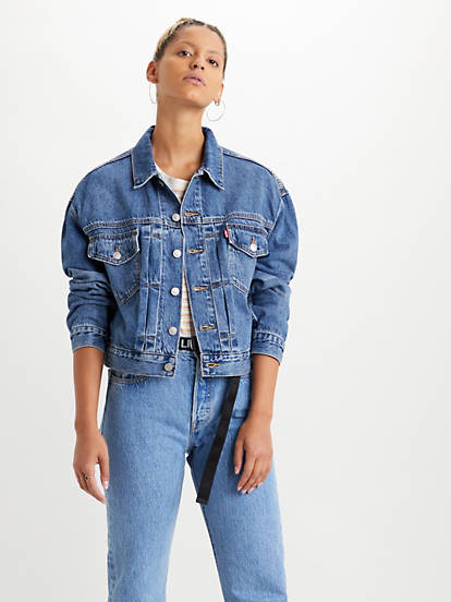 Veste en jeans Camionneur Turn the Tide