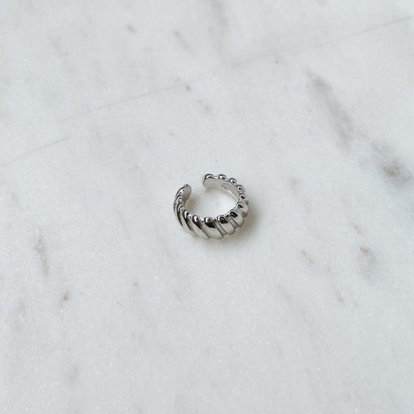 Ear Cuff croissant - argent