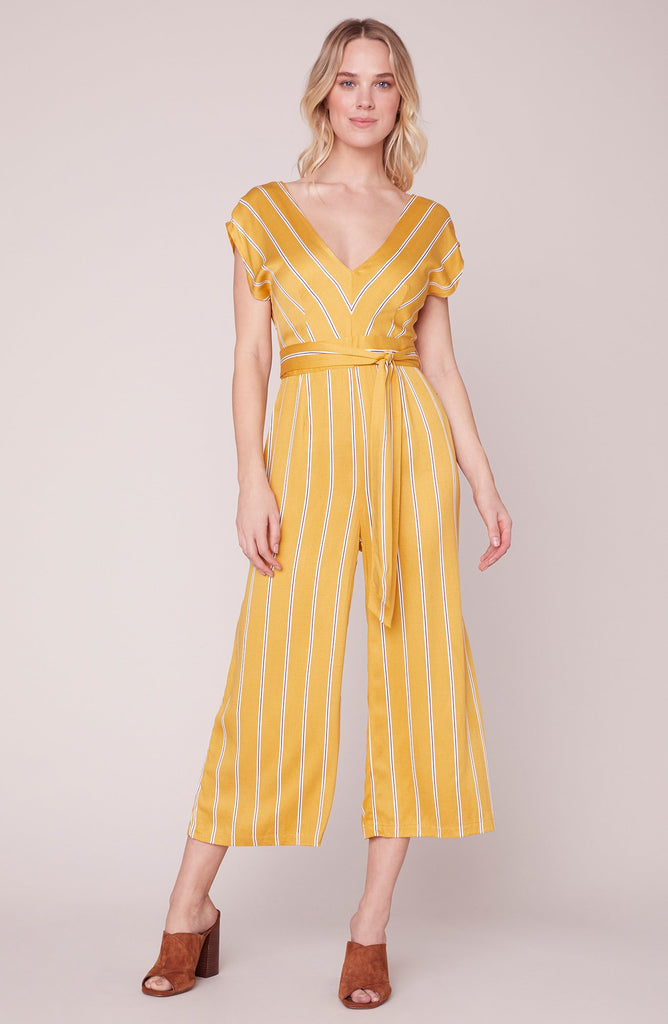 Jumpsuit All the Right Moves V-Neck