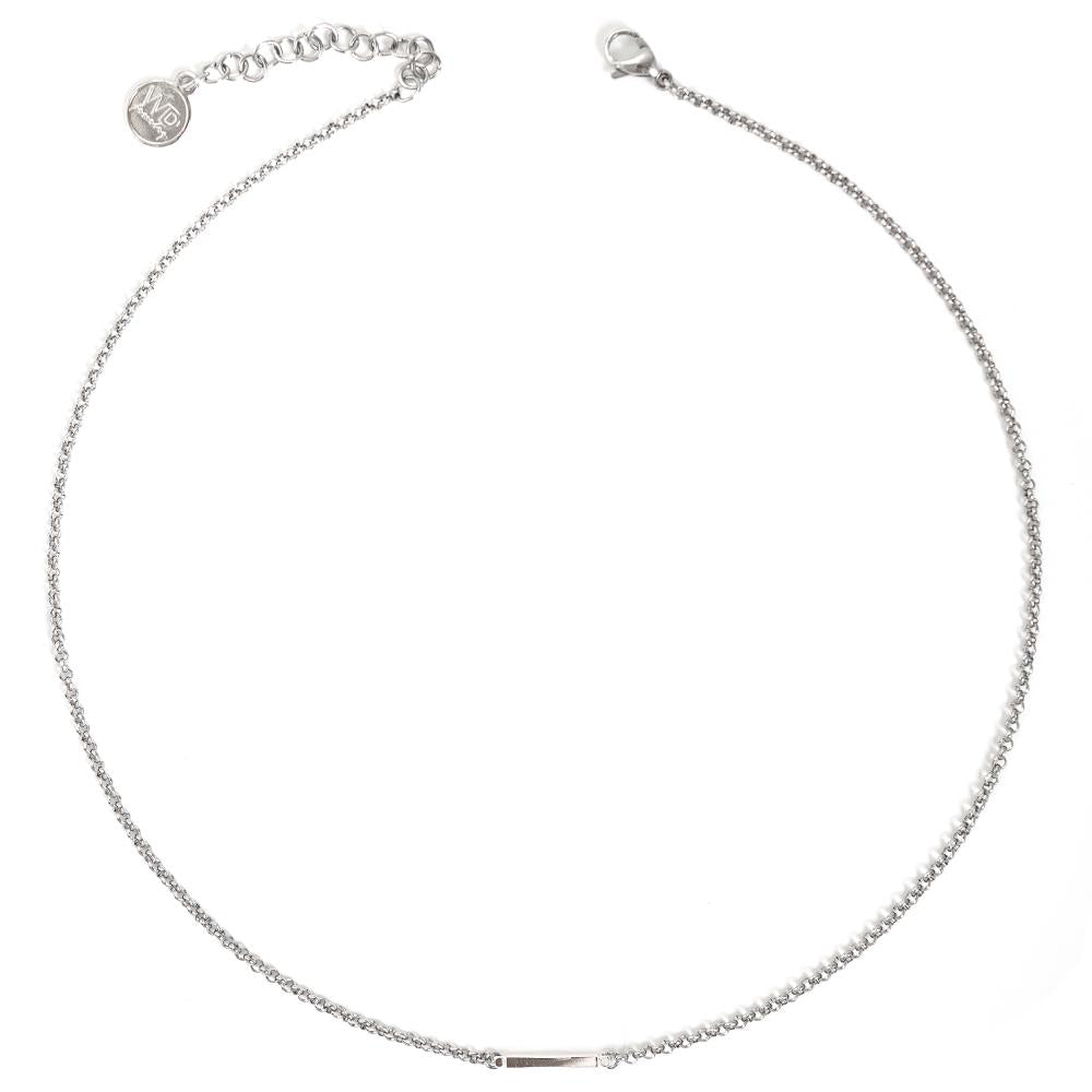 Axelle | Collier Barre Argent