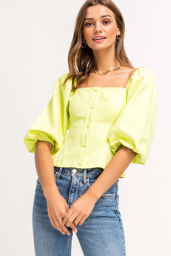 Blouse Lime