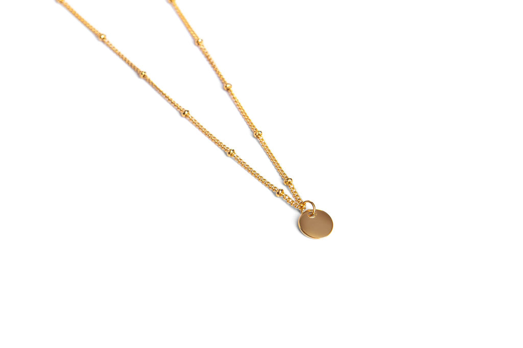 Collier Delicate gold
