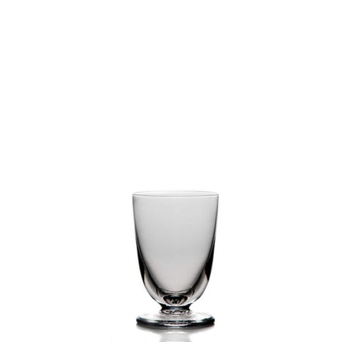 SIMON PEARCE BARRE WHITE WINE GLASS // REGISTERED FOR 12 // 8 SOLD NEEDS 4 MORE
