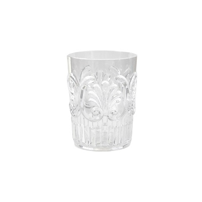 FLEUR CLEAR POLYCARB WATER GLASS