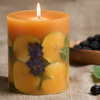 ROSY RINGS BLACKBERRY FIG PILLAR CANDLE
