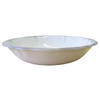 RUSTICA WHITE MELAMINE SALAD for 2 BOWL