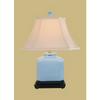 ICE BLUE RECTANGLE LAMP