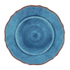 ANTIQUA BLUE MELAMINE DINNER & SALAD PLATE