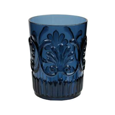 MIDNIGHT BLUE POLYCARB WATER GLASS