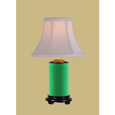 EMERALD GREEN PENCIL JAR LAMP