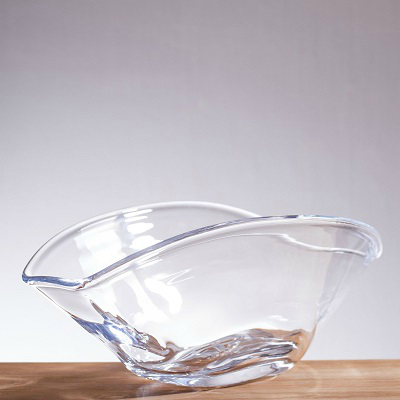 SIMON PEARCE WOODBURY RECTANGULAR BOWL SM