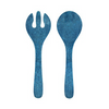 ANTIQUA BLUE MELAMINE SERVING SET