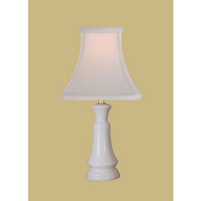 WHITE PORCELAIN LAMP