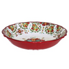 ALLEGRA RED MELAMINE SALAD BOWL