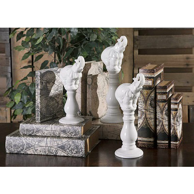 ELEPHANT TRIO STATUARIES
