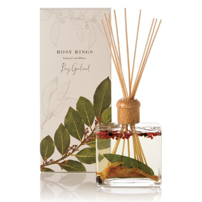 ROSY RINGS BAY GARLAND REED DIFFUSER