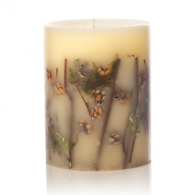 ROSY RINGS FOREST PILLAR CANDLE