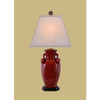 OX BLOOD JAR LAMP