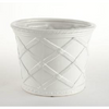 LATTICE WHITE CACHEPOT // REGISTERED FOR 2