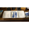 BLUE PESCI 3 PART TRAY