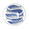 BLUE PESCI SERVING BOWL