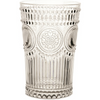 ARABESQUE CLEAR POLYCARB TUMBLER // REGISTERED FOR 8