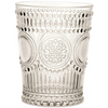 ARABESQUE CLEAR POLYCARB WATER GLASS // REGISTERED FOR 8