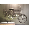 METAL WALL BIKE WITH BASKETS