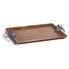 BOLTON STAG HEAD RECTANGLE TRAY SM
