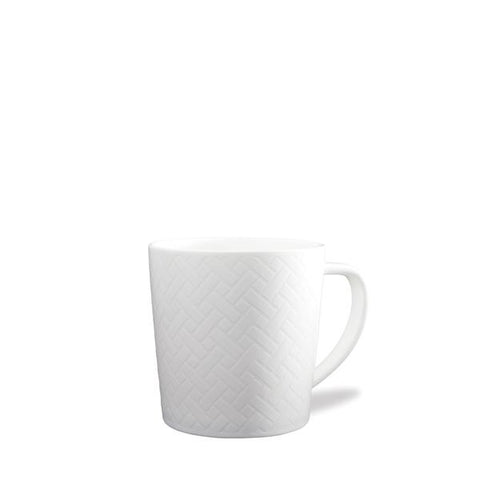 CASKATA WHITE WICKER MUG // FULFILLED