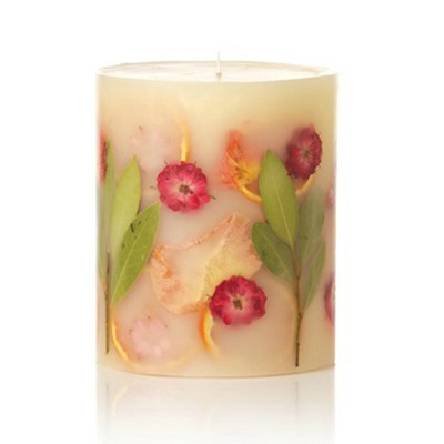 ROSY RINGS PEONY & POMELO PILLAR CANDLE