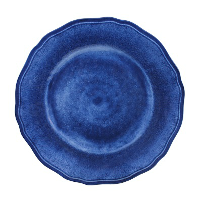CAMPANIA BLUE MELAMINE DINNER PLATE // REGISTERED FOR 8 PLATES