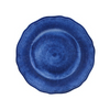 CAMPANIA BLUE SALAD PLATE//Registered for 8