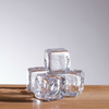 SIMON PEARCE GLASS ICE CUBE