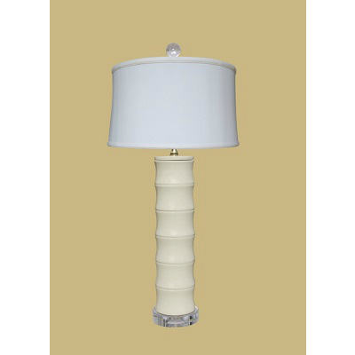 DOVE WHITE TALL LAMP