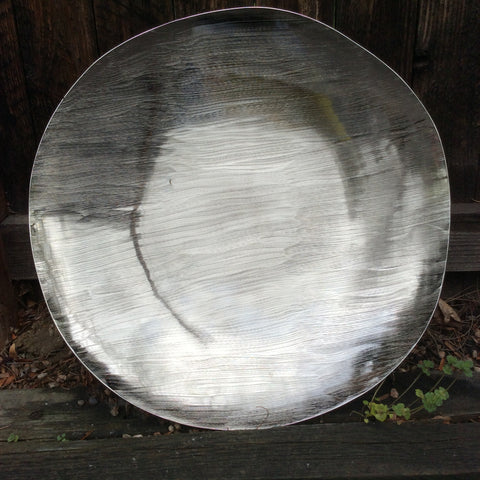 SERANO RAW ALUMINUM BOWL