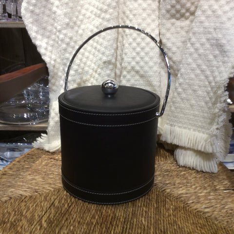 BLACK STITCH ICE BUCKET