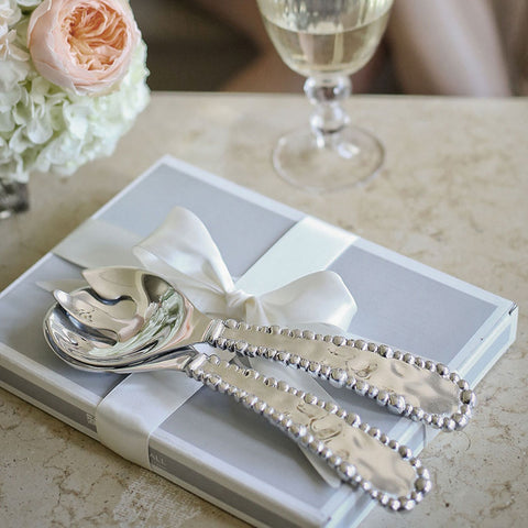 Beatriz Ball Organic Pearl Salad Servers
