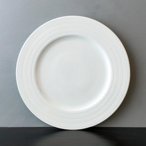 Cambridge Stripe Dinner Plate//Registered for 12 // 6 Purchased // Needs 6 to Fulfill Registry