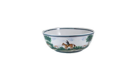 "CENTURY HUNT 12"" SERVING BOWL"