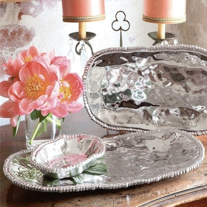 BEATRIZ BALL ORGANIC PEARL NOVA OVAL TRAY MD