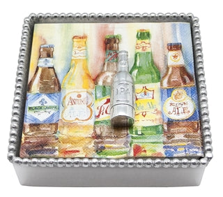 NAPKIN BOX WITH BEER