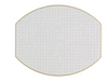 TWO SIDED ELLIPSE PLACEMAT