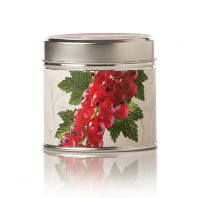 ROSY RINGS RED CURRANT & CRANBERRY TIN CANDLE