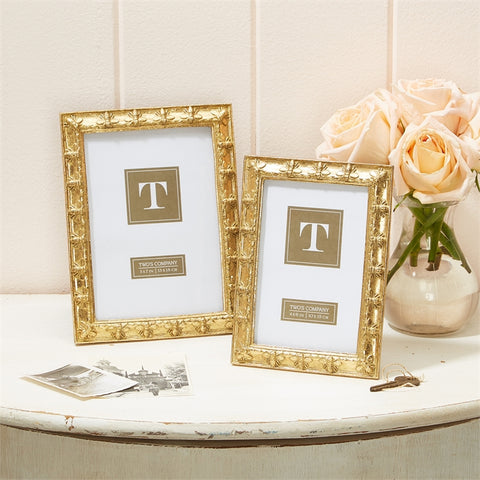 GOLD BEE FRAME // NEEDS 5X7 TO FULFILL REGISTRY 28.00