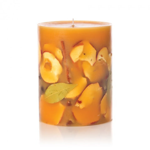 ROSY RINGS SPICY APPLE PILLAR CANDLE