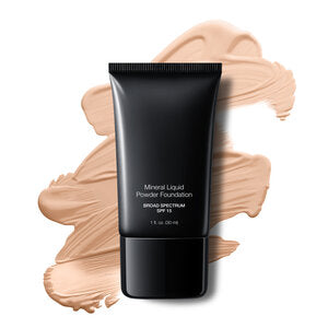 Foundation Mineral Liquid Powder  -Porcelain BBG Cosmetics