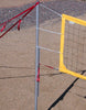 202-CNRY17-Power Net Portable Volleyball Set, poles, yellow net, guy lines, web boundary, stakes & carrying bag