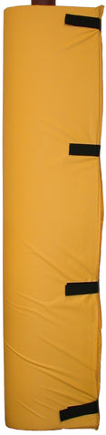 PADY-yellow vinyl cover post pad polyfoam filled