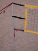 203-PNRY17A-portable volleyball set yellow net tapes
